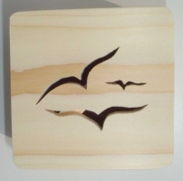 Seagull design - view of lid