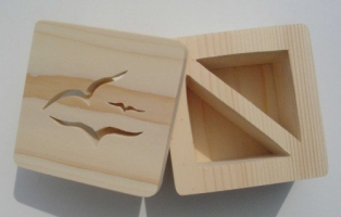 Seagull design - open box