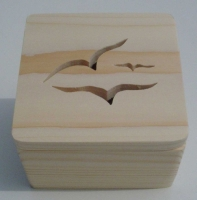 Seagull design - view of box