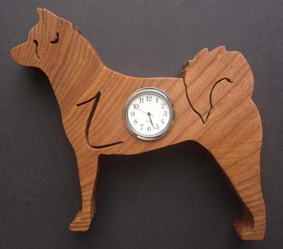 Shaped Japanese Akita Clock