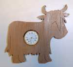 Shaped Heilin Coo Clock