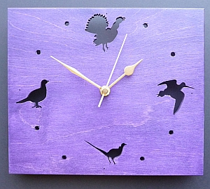 Scottish Bird Clock