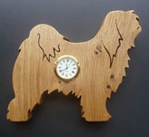 Shaped Tibetan terrier Clock