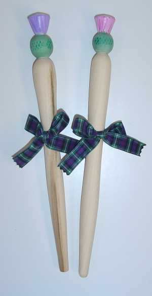 Thistle spurtle