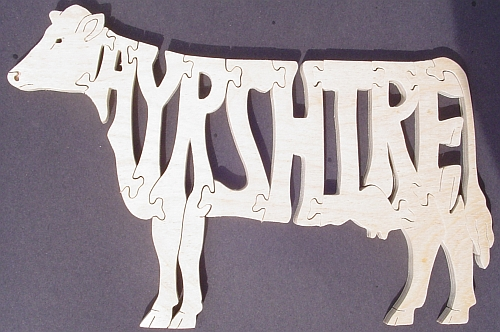 Ayrshire Cow Puzzle