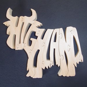 Highland Cow Puzzle