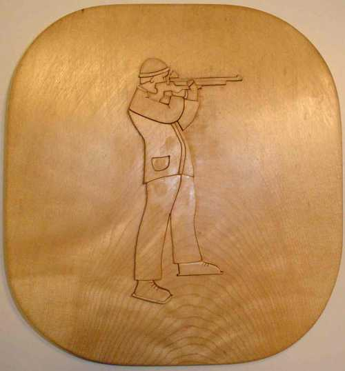 rifle shooter trophy