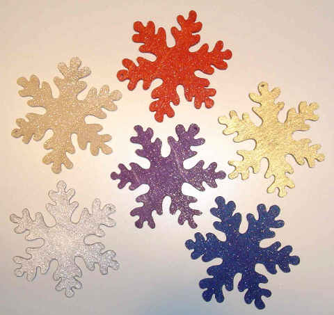 Solid Snowflake Design